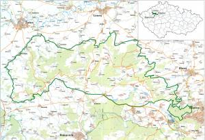 mapa dzban