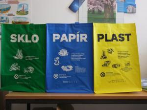 Tašky na separovaný odpad - 40 l