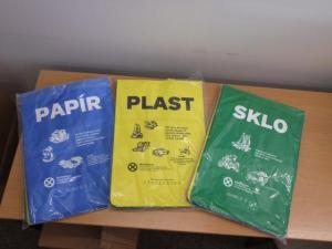 Tašky na separovaný odpad