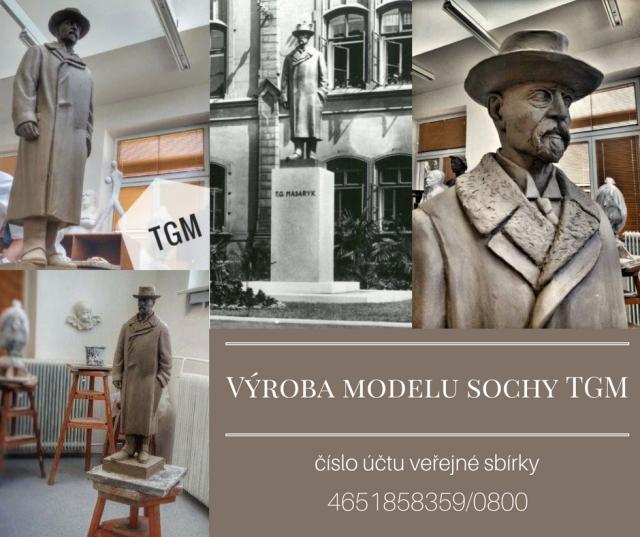 Výroba modelu sochy TGM